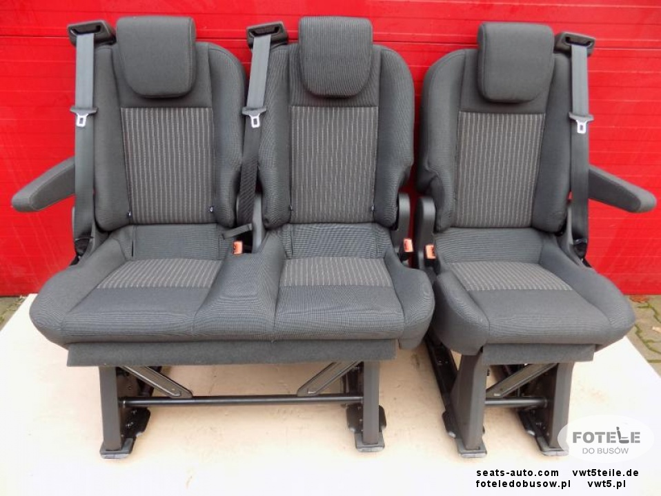 ford transit custom 3er bank fahrgasrraum sitz bench. Black Bedroom Furniture Sets. Home Design Ideas