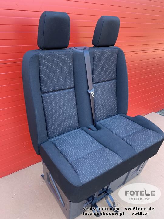Seat Front Mercedes Sprinter 907 Caluma double passenger bench | eBay