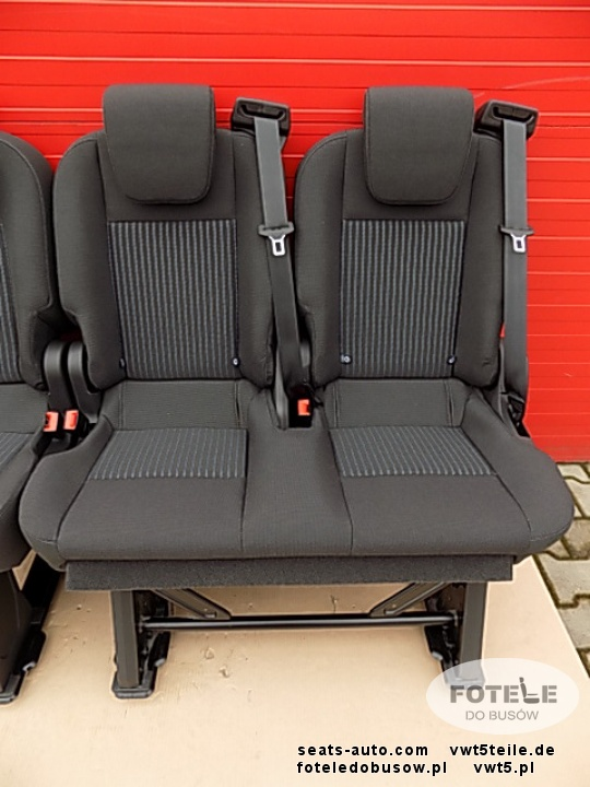 Seat Ford Transit Custom 2013 2018 Bench Rear Seats Double